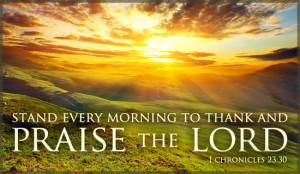 Praise the Lord - Ecard