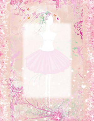 Personalized Ballerina Name Poem