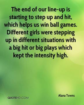 Quotes About Stepping Up