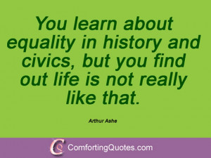 13 Quotes And Sayings By Arthur Ashe