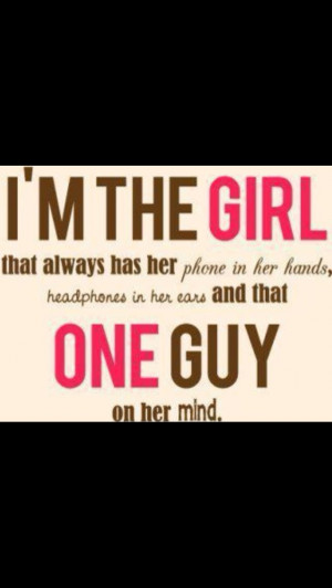 the girl...
