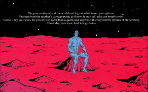Watchmen dc comics quotes dr wallpaper background
