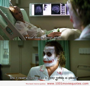 the dark knight - joker quote