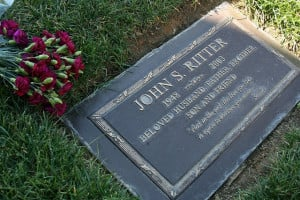 John Ritter :'( and it says