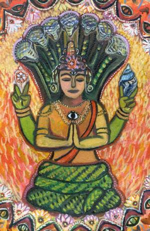Invocação para Patañjali ensinado por B.K.S Iyengar
