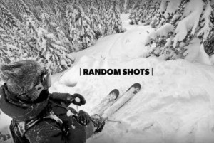 GoPro Footage of A Skier's Thrilling Zoom Through A Forest