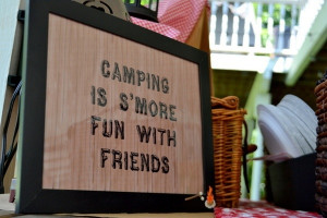 Cute! #camping #party