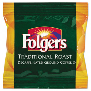 Folgers® Ground Coffee Fraction Packs, Classic Roast Decaf, 1.5oz, 42 ...