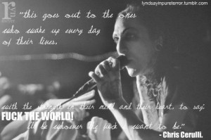 Chris Motionless Quotes | motionless in white #chris motionless #chris ...