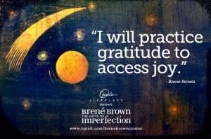 Joy and gratitude go hand in hand. www.synergyfamilywellnesscentre.com