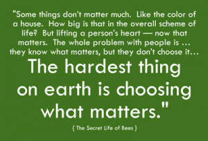 Quote from: The Secret Life of Bees by Sue Monk Kidd .