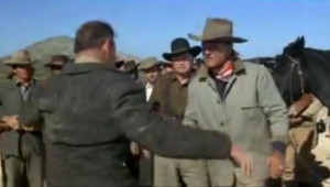 McLintock! - McLintock confronts an angry father