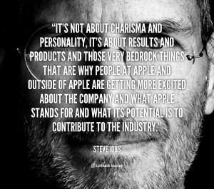 Steve Jobs Personality