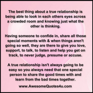 Quotes About Relationships Being Worth It True relationship is being