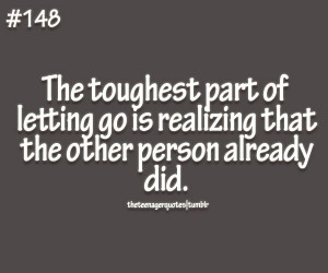 Teenager Quotes — letting go quote follow us for more teenage...