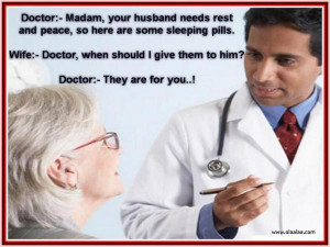 Doctor Patient Jokes-Funny Jokes-Wife-Husband-Best-Good-Peace