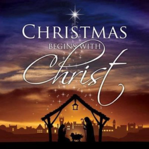 ... and remove any mention of christ from christmas the majority of