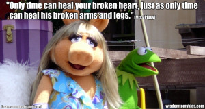 Muppets Funny Quotes Love quote by miss piggy.