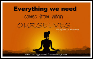 Loving yourself quote, Loving Yourself University, Stephanie Mansour ...
