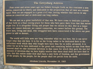 The Gettysburg Address: One of the most beautiful and moving things I ...