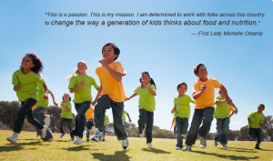 Inspirational quote from PHA's honorary chair Michelle Obama: Kids ...