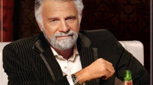 as the actor behind Dos Equis's