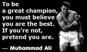 25+ Stirring Muhammad Ali Quotes