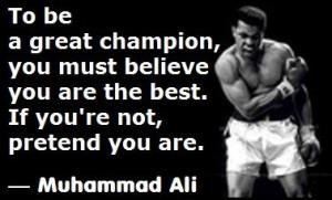 25+ Stirring Muhammad Ali Quotes