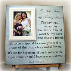 for a future sister-in-law