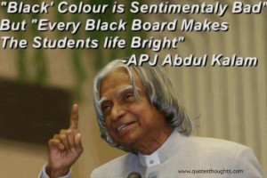 ... quotes thoughts dr.apj abdul kalam black colour student life best nice