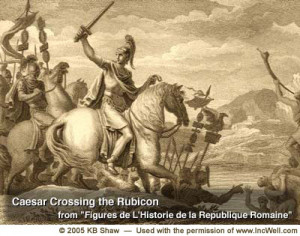 Caesar Crosses the Rubicon