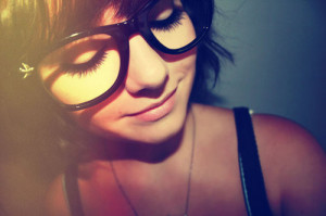 girl,glasses,happy,color,photography,girls ...