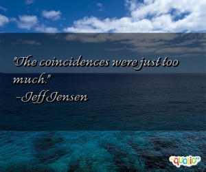 Coincidences Quotes