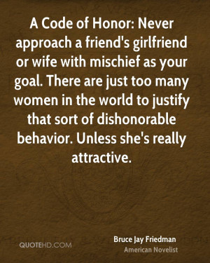 Bruce Jay Friedman Women Quotes