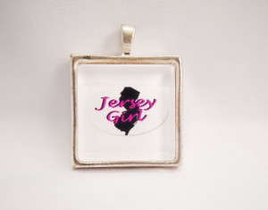 New Jersey Girl State White Funny Quote Glass by TheDesignsByKat, $8 ...