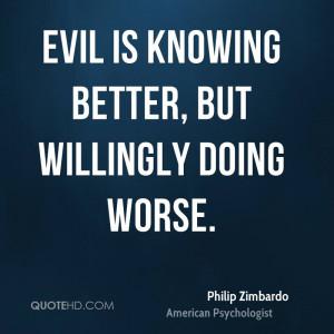 Philip Zimbardo Quotes