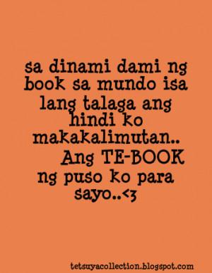 Corny Love Quotes Tagalog Funny