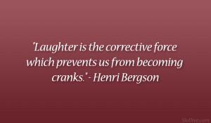 Henri Bergson Quote