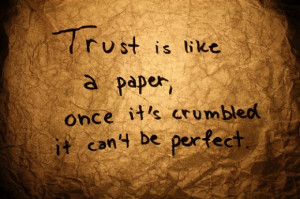Trust Issues and quotes