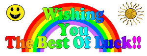 Wishing you the Best of Luck Graphic ~ Good Luck Graphic