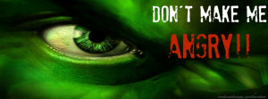 Hulk : Don't make me angry timeline cover