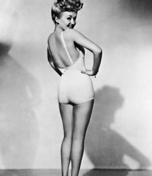 Pin up girl - Betty Grable.