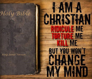 am a Christian