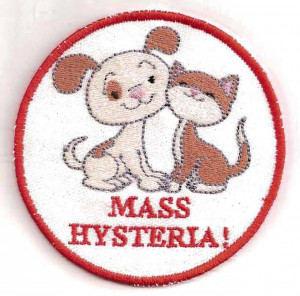 etsy.comGhostbusters Cats and Dogs Living Together Patch by ...