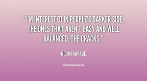 ... side, the ones that aren't easy and well balanced. The cracks