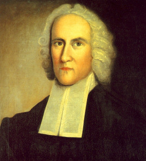 Jonathan Edwards and his American Colonial white wig (Click to Enlarge ...
