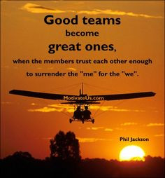 ... activities together that involves teamwork, support and encouragement