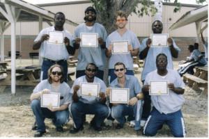 Inmate Graduates