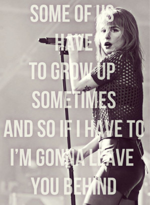 paramore quotes | TumblrQuotes Love, Hayley Williams, Paramore Lyrics ...