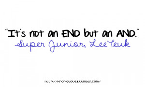 Quotes on Super Junior - sweet quotes cute funny inspiring quote ...